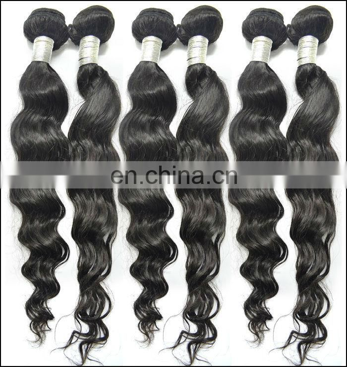 Peruvian virgin natural hair pieces for short hair