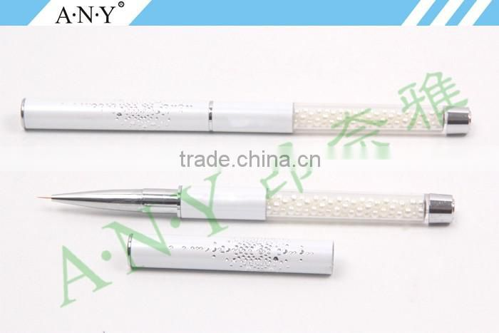 ANY High Quality Pearl Handle Pig Bristle Nail Design Brush Tool