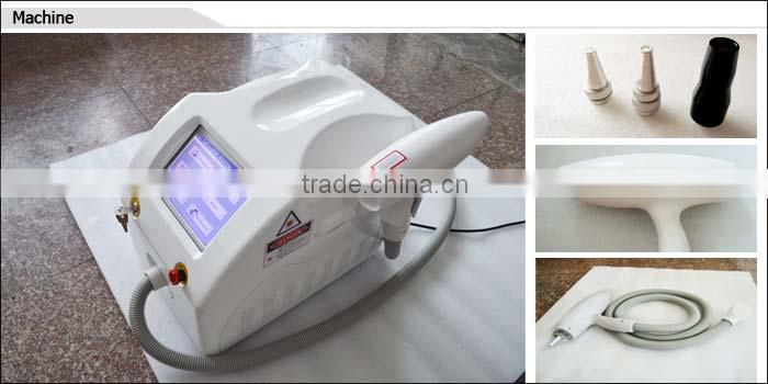 2016 big sale 1500mj nd yag laser tattoo removal skin scrubber machine with CE