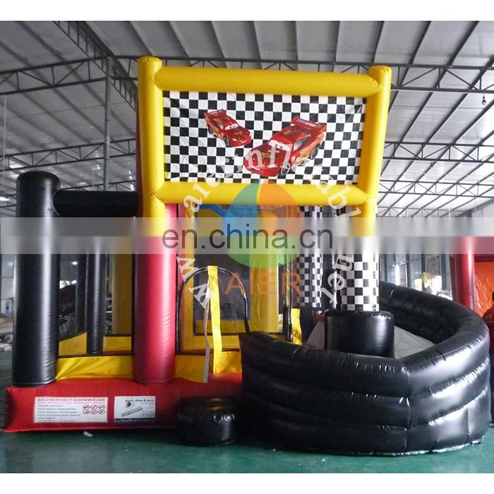 Wholesale high quality inflatable air castle/ jumping castle inflatable baby bouncer with mosquito net