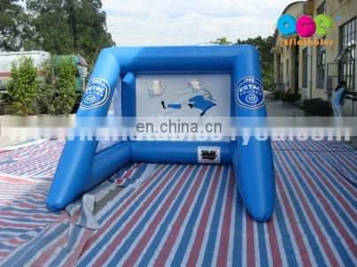 High quality portable inflatable football goal for events