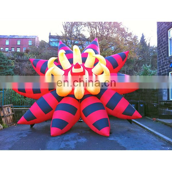 new giant inflatable rose flower for decoration