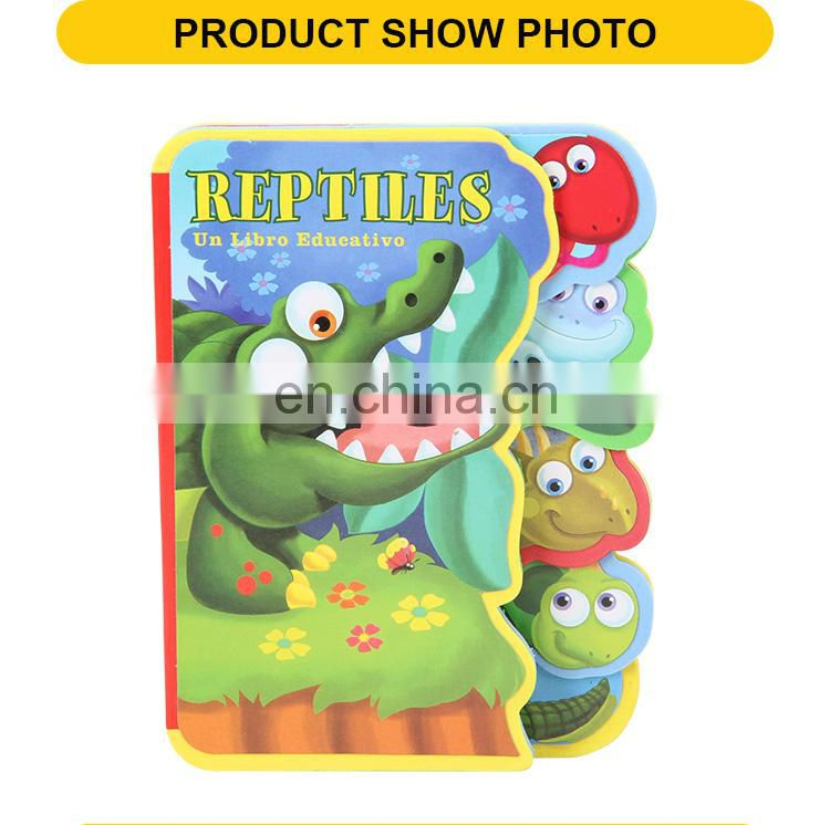 Colorful Cartoon Crocodile Education Story Books For Children