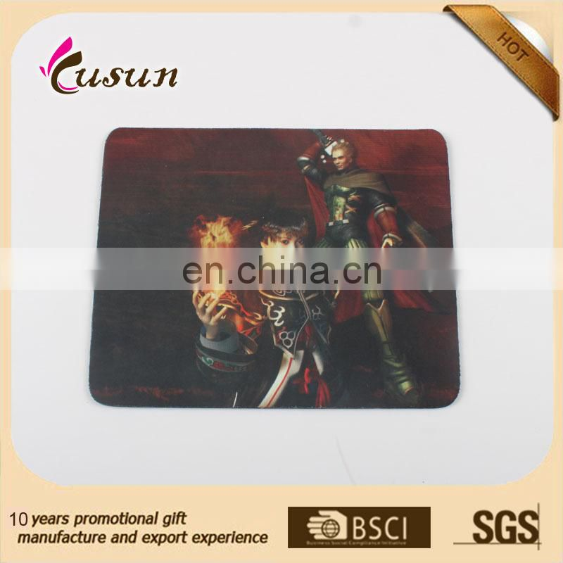 CMYK offset printed computer rubber gaming mouse pad,pvc custom mouse pad,mouse pad