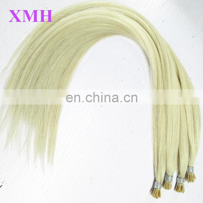 New Fashion Style Pure Remy Top Grade I Tip Human Hair Extensions