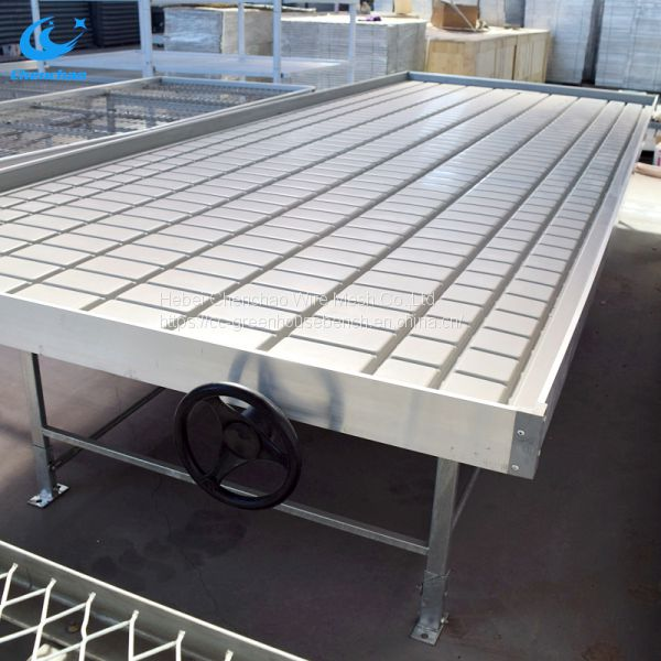 greenhouse ebb and flow rolling benches,ebb and flow rolling table Image