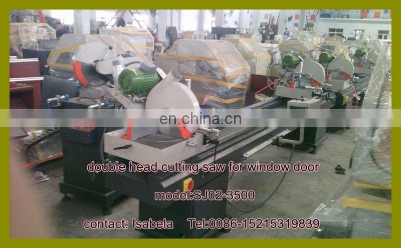 High Precision Digital dispay Double Mitre Saw for Aluminum and PVC window profile/Window Door Machine Cutting Saw