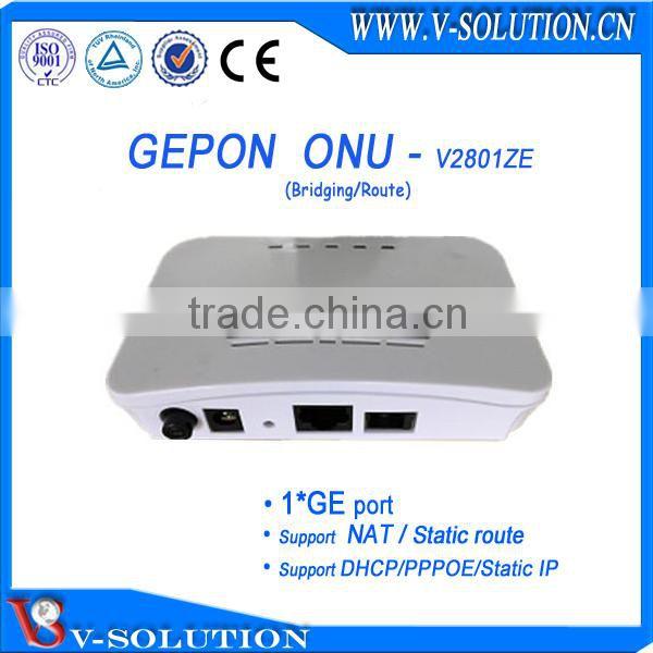 4 Port FTTH Mini Fiber Optical Gepon Olt for ISP Network 1U