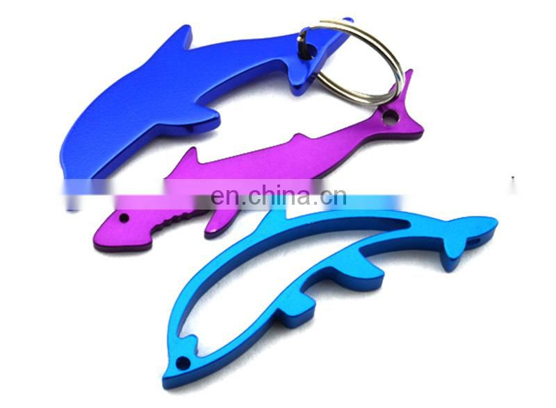 Wholesale cheap aluminum fish bottle opener