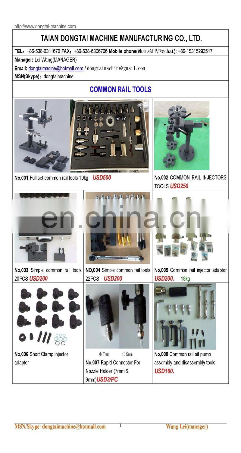 NO,004 Simple common rail tools 22PCS