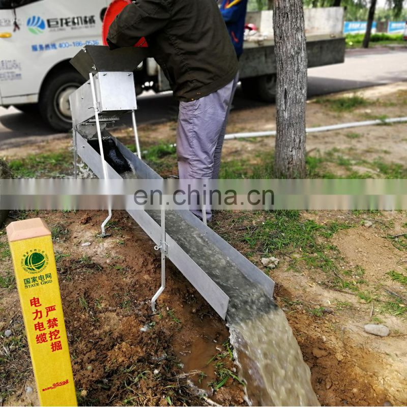 Real RM20 portable and detachable gold sluice
