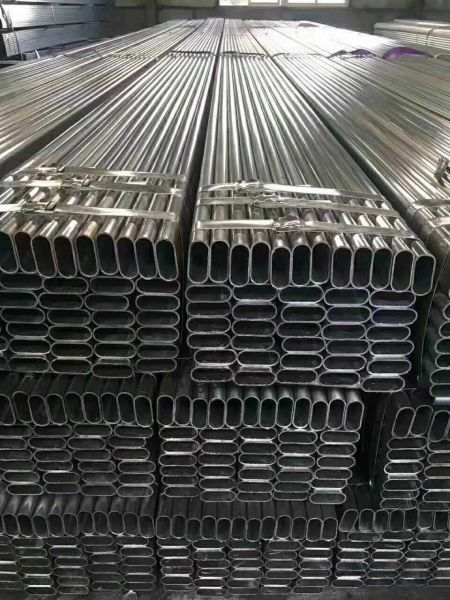 888 Mild Steel Round Pipe 16 Gauge Galvanized Steel Pipe Image