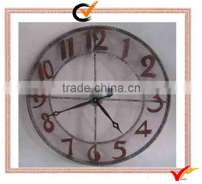 Fuzhou Vintage Products Company Big Round Metal Art and Craft Clock