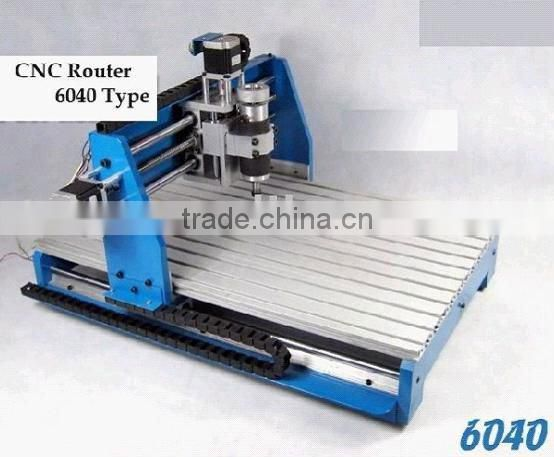 small desktop hobby CNC4060/6090 ball screw drive mini cnc router for wood metal plastic