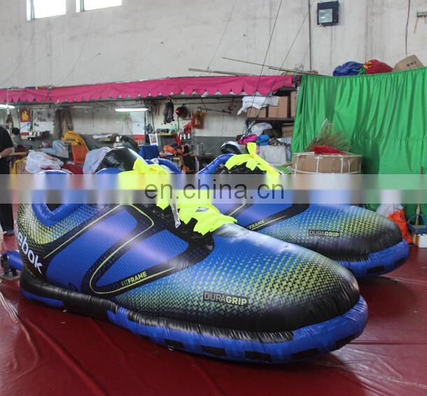 inflatable walking shoes for promotion /inflatable shoes replica for sale