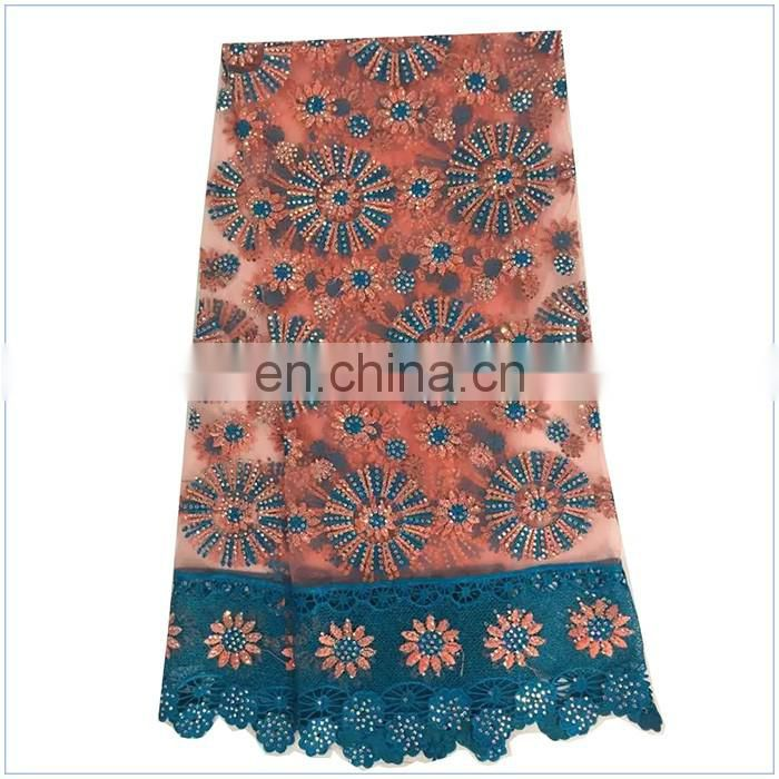 2016 New Arrival Embroidery Designs Popular African Cord Lace