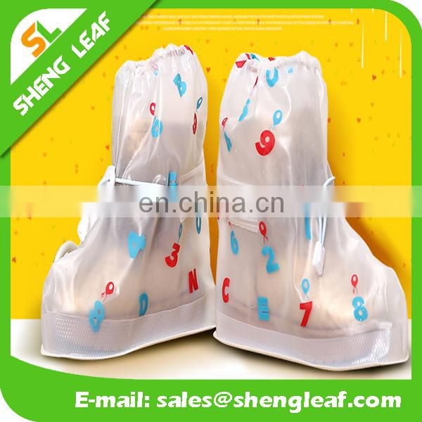 Custom design of Waterproof shoe cover, plastic shoe cover