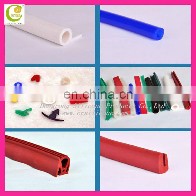 High Temperature Resistant Silicone Rubber Vacuum Hose Platinum Cured Heater Silicone Tube