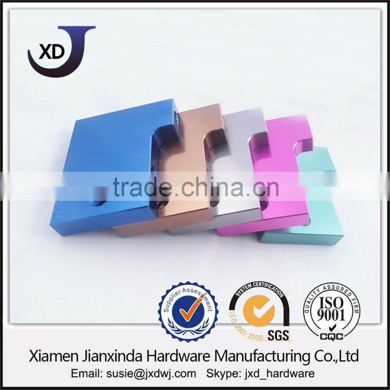 Anodized cnc precision machining 7075 aluminum parts
