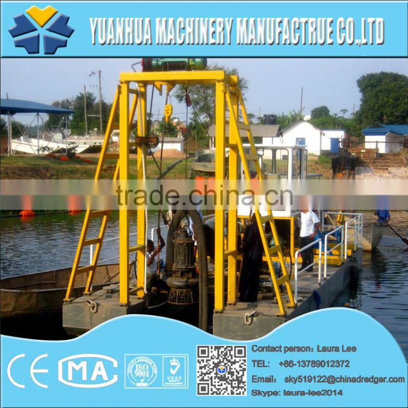hydraulic cutter suction dredger for Japan