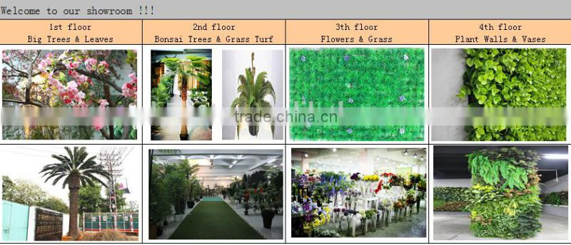 Home and outdoor decoration synthetic cheap hanging artificial plastic vertical green grass flower texture wall E08 04S02