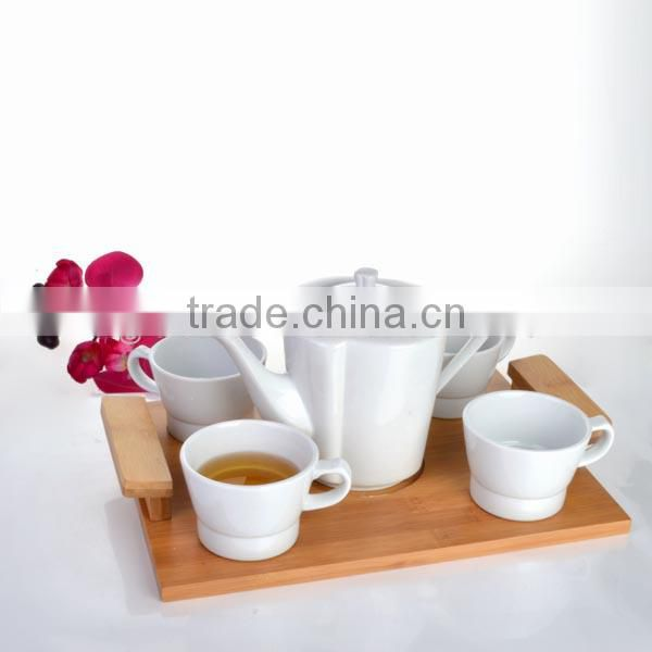 Food grade white porcelain,ceramic chinese tea cup set for dinner