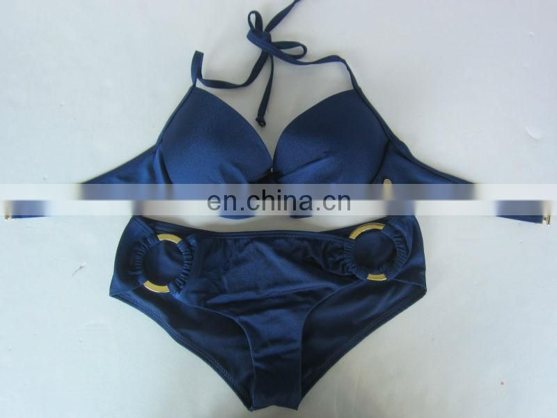 Sexy Dark Blue two pieces swimwear /Bikini