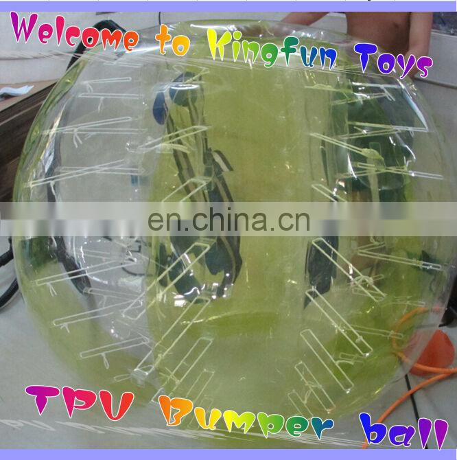 Popular word cup inflatable soccer ball field/bubble football pitch