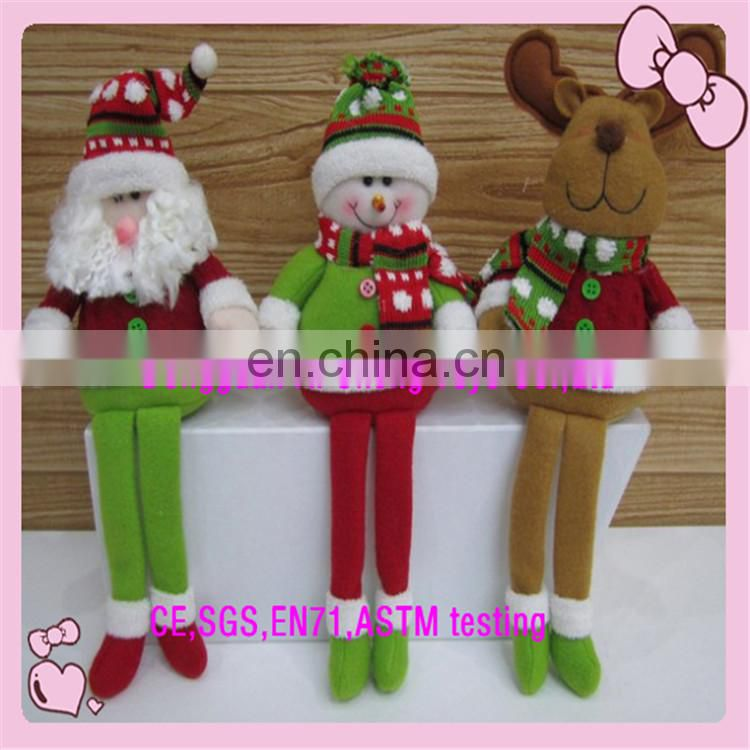 Lovely christmas plush toy keychain