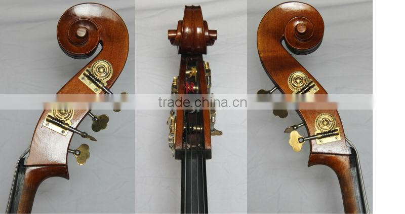 Fully hand high quality solid 3/4 double bass made in China