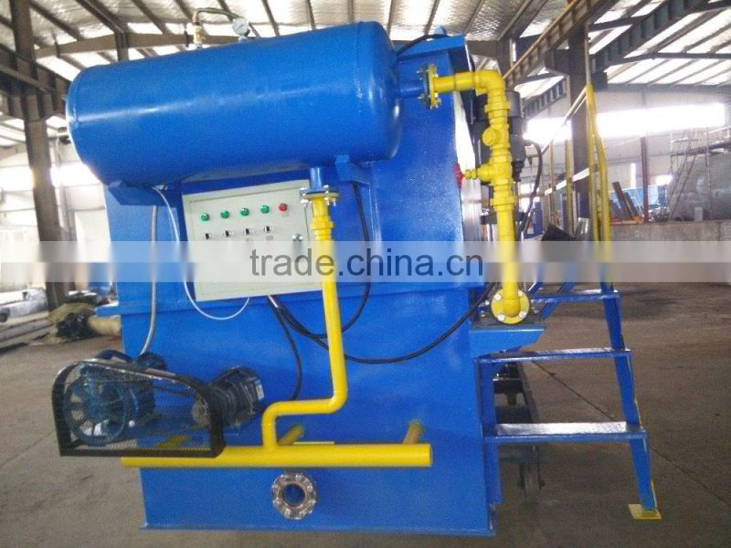 Dissolved air flotation machine for paper making factory sewage water treatment plant/sewage treatment equipment