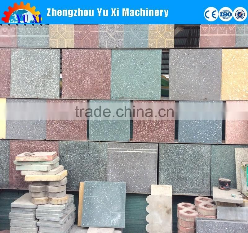 Free Installation Automatic Press Terrazzo Cement Floor Tile Making