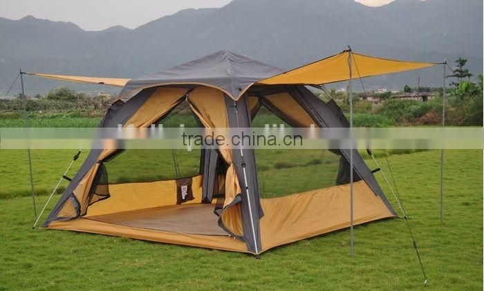 4 persons family leisure sunshine camping tents