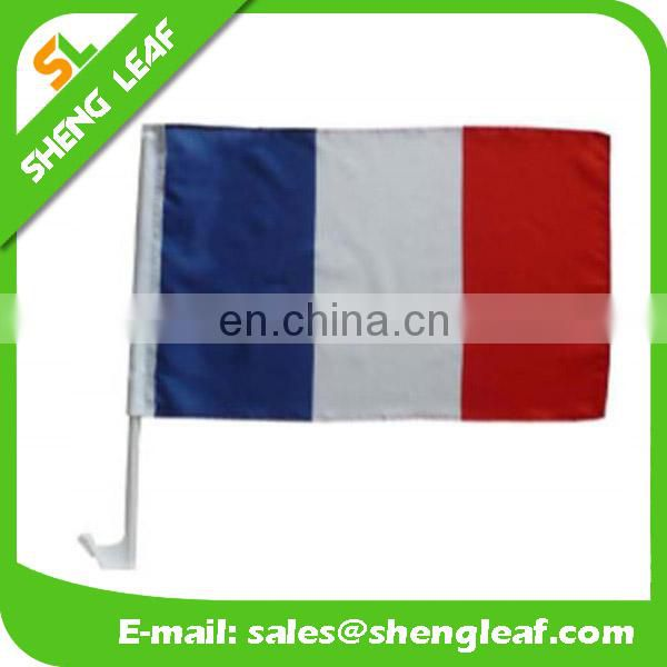 2017 Promotional Custom Car Flag with pole