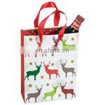 Promotional cotton Non Woven Bag/Non woven Shopping grocery fruit and food Tote Bag BAG087