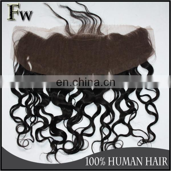 Big stock lace closure hair piece best selling hand tied remy lace front closure with baby hair