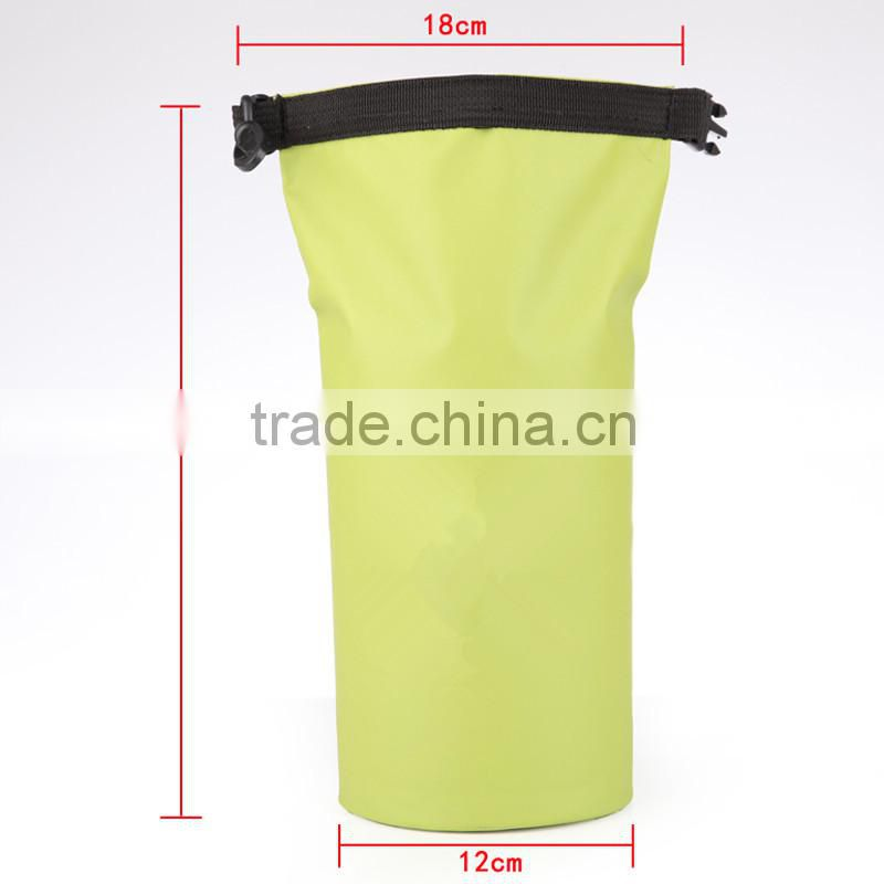 Outdoor 500D PVC tarpaulin sport boating small waterproof mesh dry bag