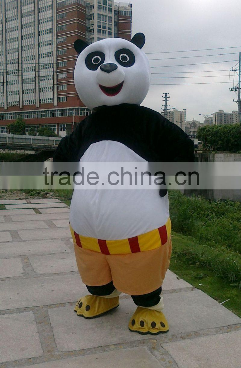 2015 best selling products adult plush mascot costume / animal costume for advertising for advertising