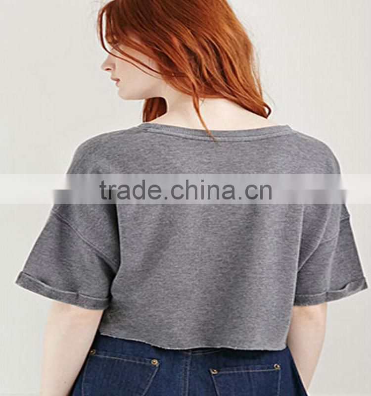 custom t-shirt/ dongguan garment factory/ women t shirt