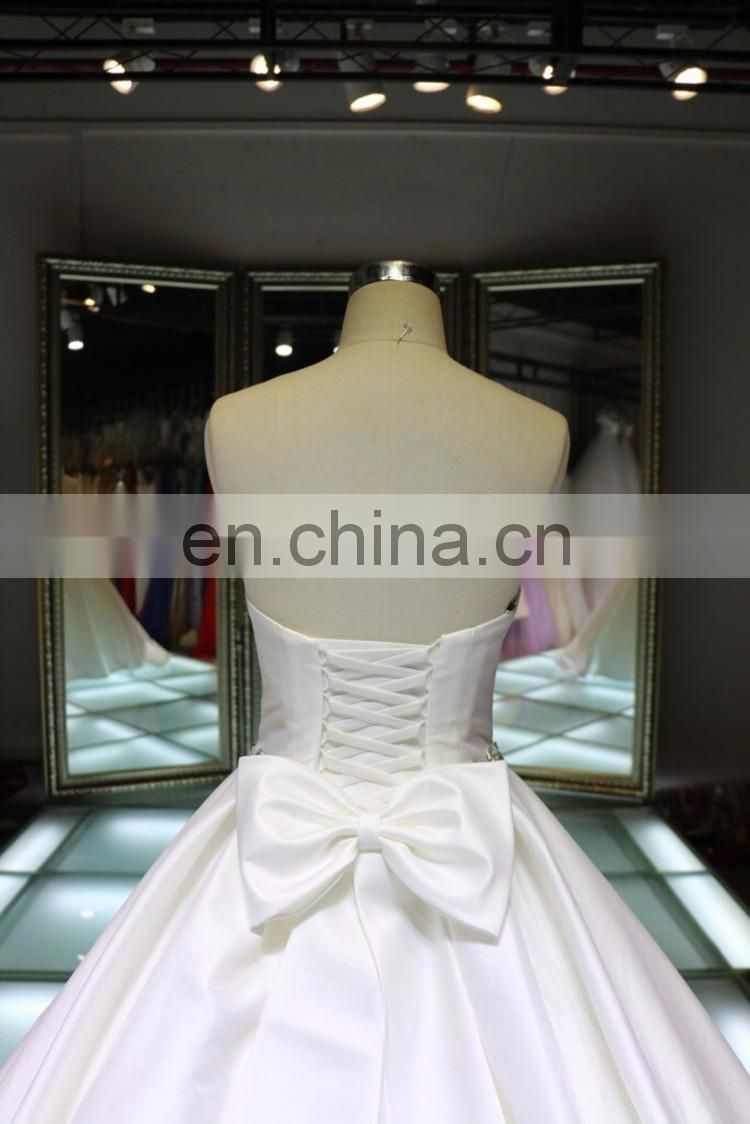 China custom made plus size A-line formal party ball gown wedding evening dress