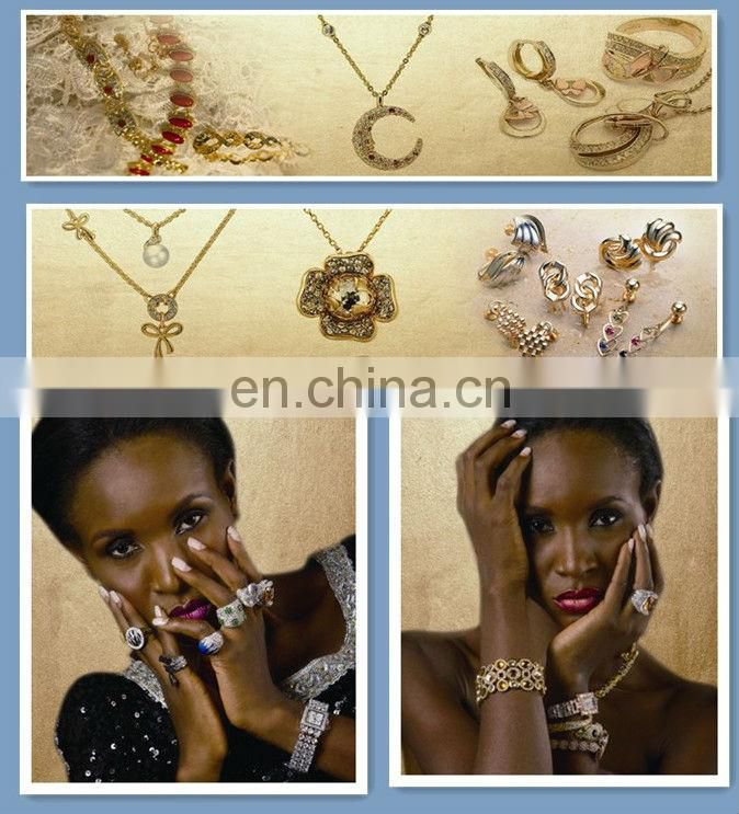 gold plated fashion jewelry set African jewelry set