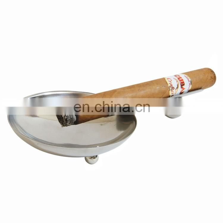 Custom cheap personalized logo cigar ashtray for promotional item