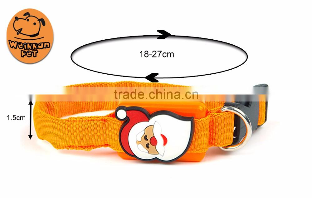 (1065) pet product wholesale dog necklace cheap pet LED collar