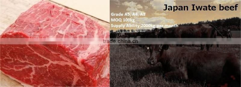 High quality and Preminum Japanese food wholesale, meat at