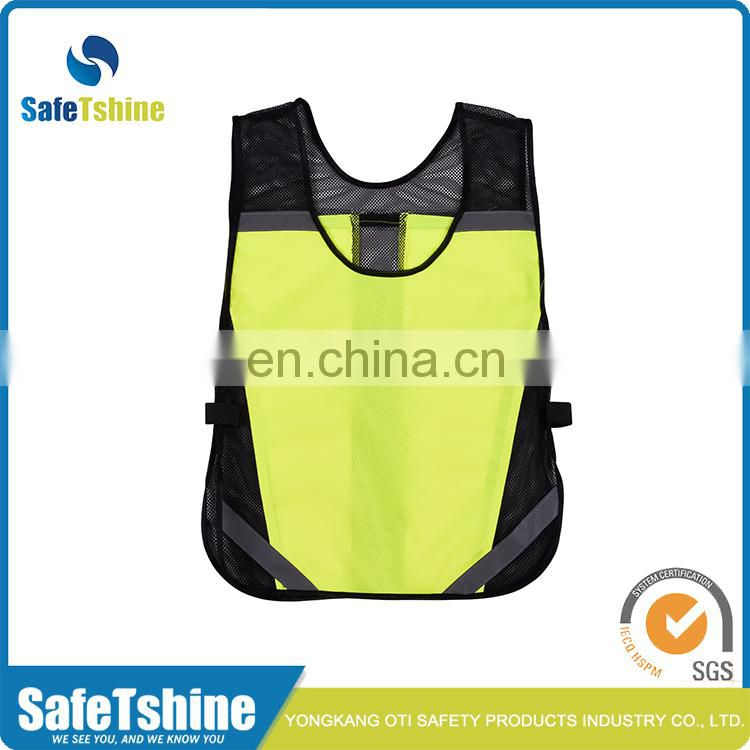 High quality comfortable sport reflective running vest