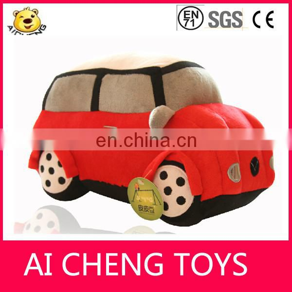 fashion good quality cartoon mini car plush toy