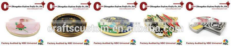 custom Metal pin Badge in plating gold