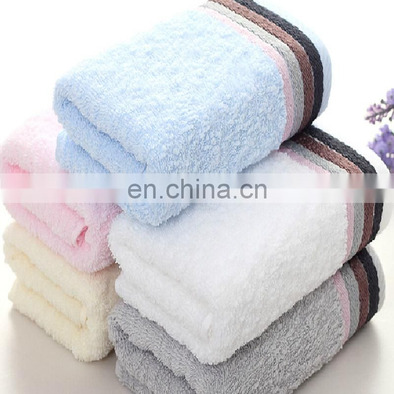 wholesale 100% cotton terry hand face towel
