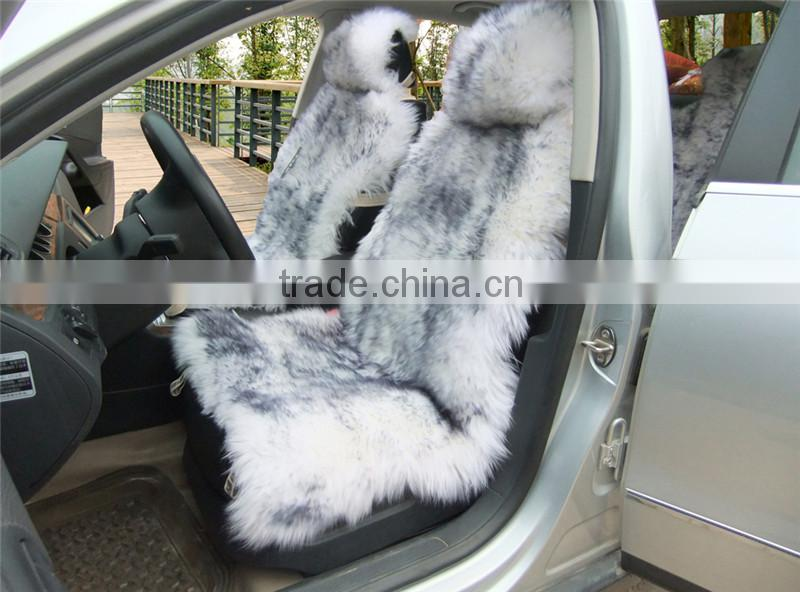 wholesale chinese fur sheepskin car seat covers