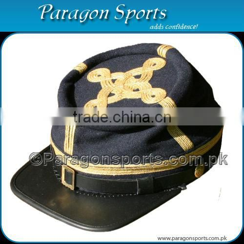 Civil War Confederate Cavalry Captain's Kepi